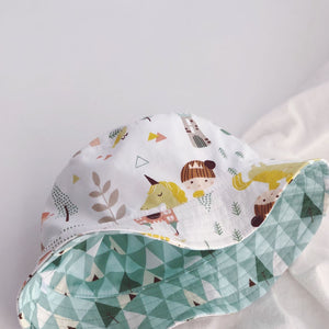 Kids Sun Protection Reversible Hat A324K042B