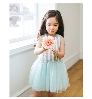 1-6Y Bebezoo Girls Tulle Dress K20161A