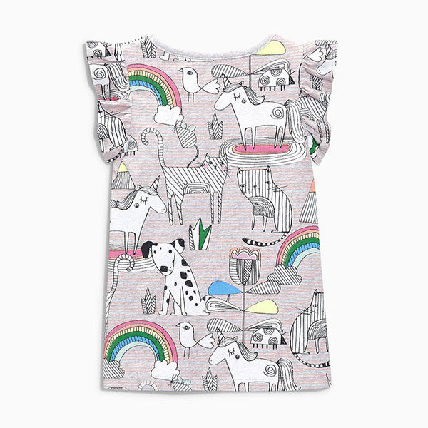 1-6Y Girls Little Maven Short-sleeve Shirts A2311B