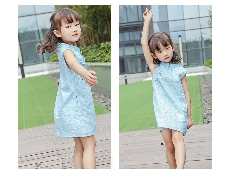 1-8Y Girls Cheongsam Dress A200C18J