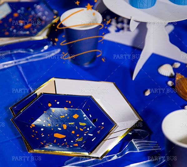 Party Plates Package of 8pcs/pack A70317D