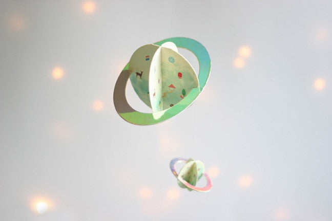 DIY Mobile Ornament Set Planets A702L