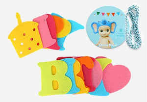 Party Flag Bunting Garland Set Happy Birthday Colourful A7042J