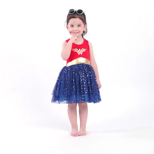 Wonder Woman Superhero Dress A20137C