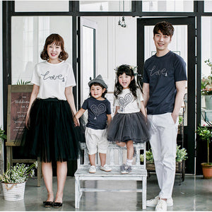 Family Wear Love String Top F308 / Tutu Skirt F3081