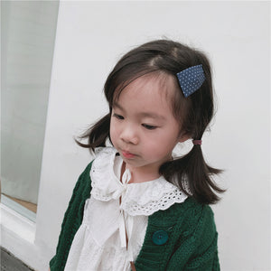 100% Handmade Kids Detachable Lace Collar K328F