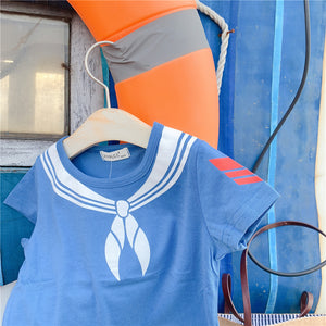 2-7Y Kids Short-Sleeves Shirts A10426G