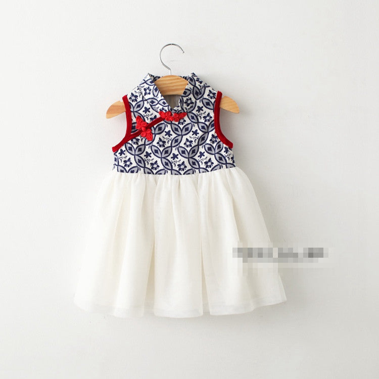 2-6Y Girls Cheongsam Dress A200C2M