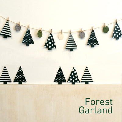Christmas Trees Garland A722L