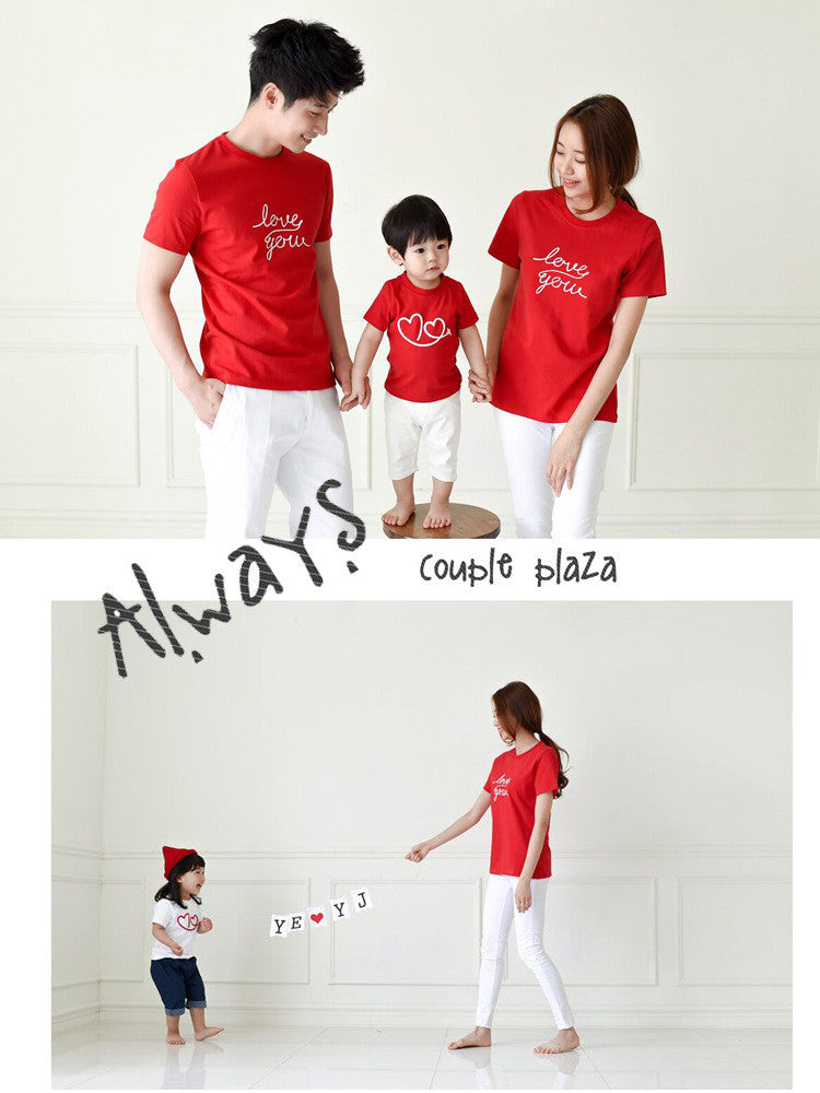 Family Wears Red and White F109 (Romper Available)