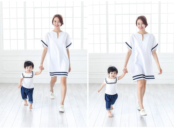 Family Wears Nautical Style F301