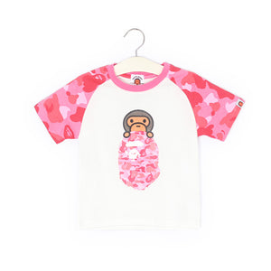2-8Y Kids Original Bape Shirt A10415A