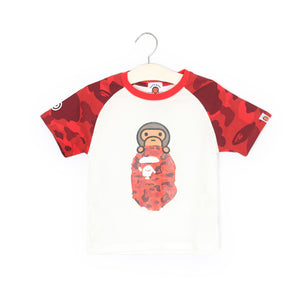 2-8Y Kids Original Bape Shirt A10415B