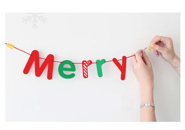 Christmas Letters Garland A7221B
