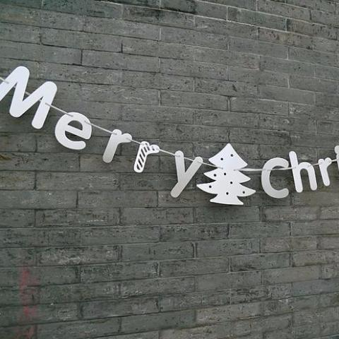 Christmas Letters Garland A7221C