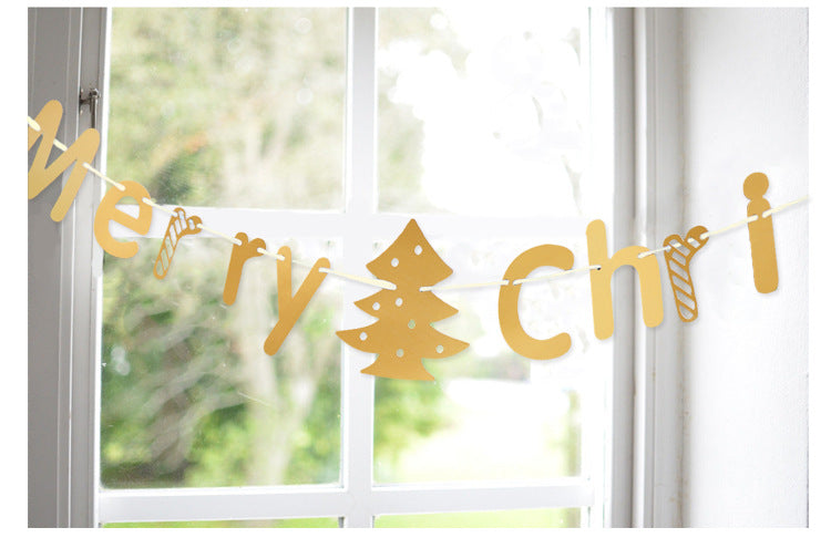 Christmas Letters Garland A7221D