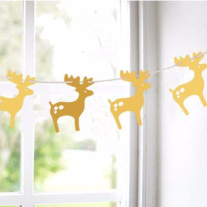 Christmas Reindeers Garland A7221G