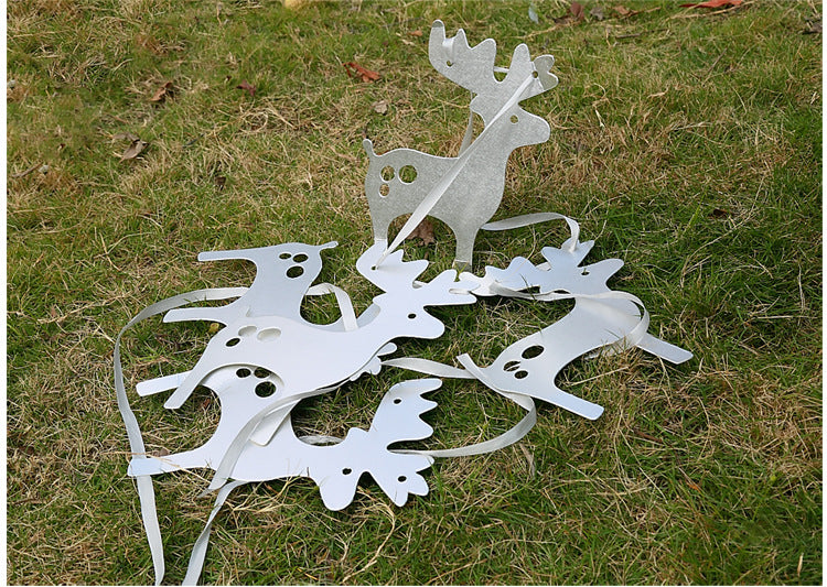 Christmas Reindeers Garland A7221H