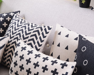 Flannel Double Sided Printed Cushion Covers A677G