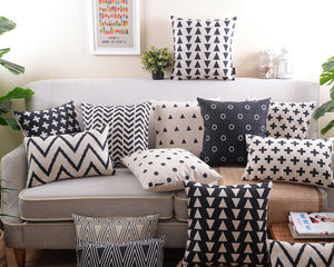 Flannel Double Sided Printed Cushion Covers A677B