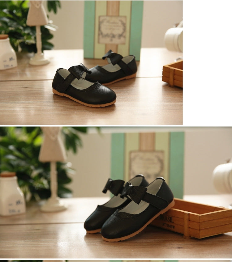 Soft Leather Black Shoes S3251B