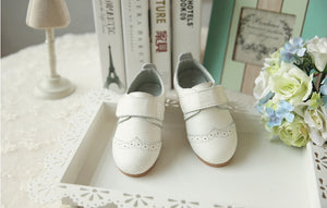 Soft Leather White Shoes S3252A