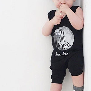 Boys Sleeveless Harem Bodysuit Romper A405J