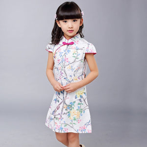 3-12Y Girls Cheongsam Dress A200C17I