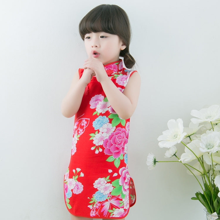 1-8Y Girls Cheongsam Dress A200C67E