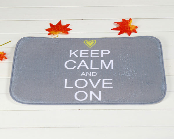 Keep Calm Door Mat H810B