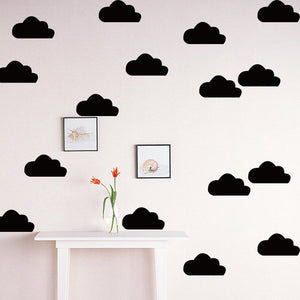 Vinyl Wall Sticker Decal A6071E Black / A6071F Gold