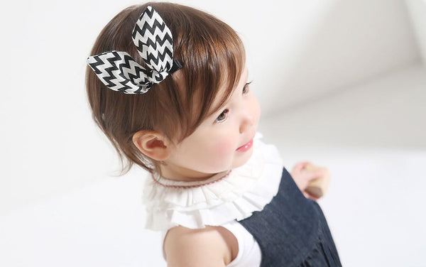 Kids Chevron Hairclips A323G82L