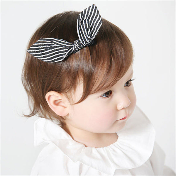 Kids Stripes Hairclips A323G82K