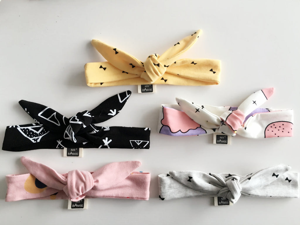 100% Handmade Kids Fabric Headband A323G105D