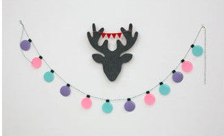 Party Garland Set Colourful Light Bulbs Garland A7043B / A7043C