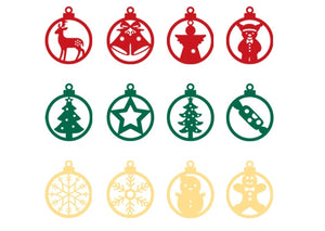 Christmas Ornament A7222D/A7222E/A7222F