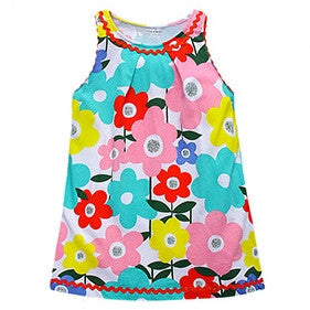 1-6Y Girls Little Maven Flower Dress A2014A