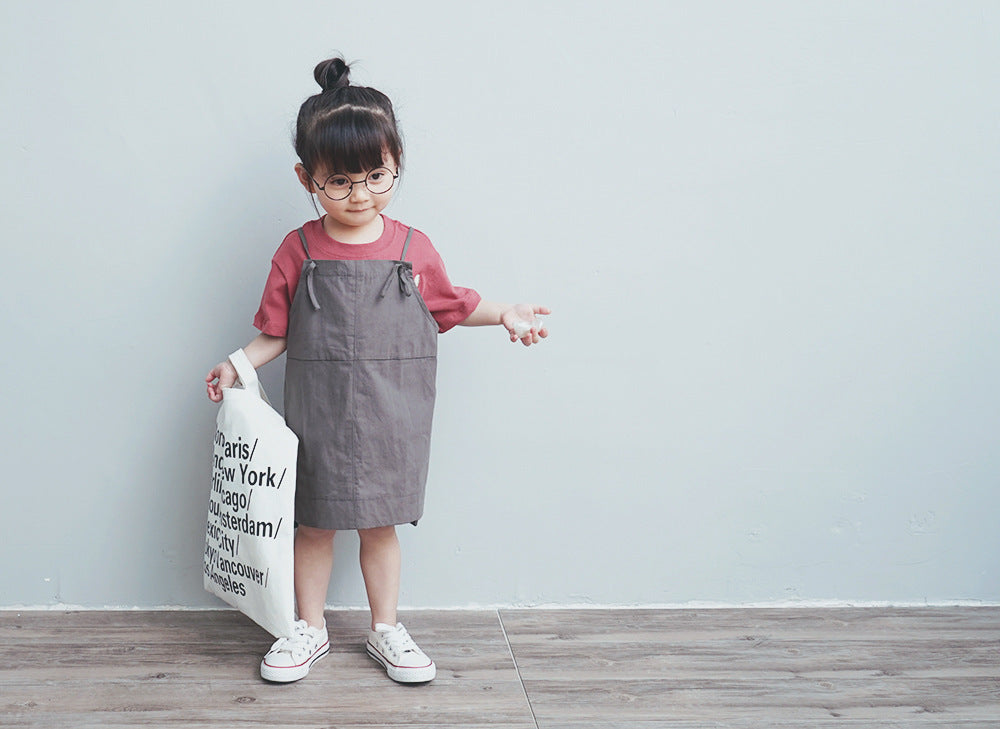 2-8Y Kids Jumpsuit A2061B