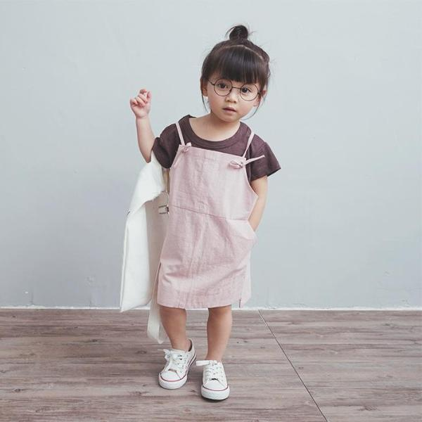 2-8Y Kids Jumpsuit A2061A