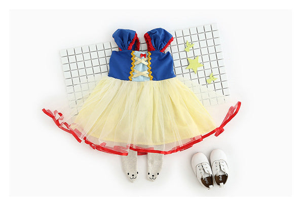 0-4Y Snow White Princess Dress G230H