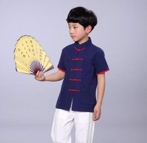 2-10Y Boys Chinese New Year Top A100C16J