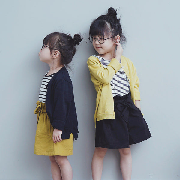 2-8Y Girls Korean Fashion Cardigan A208K