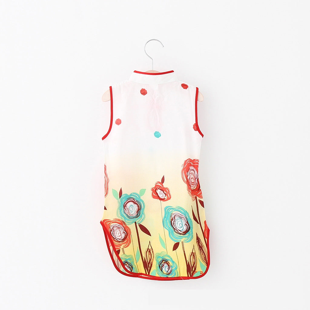1-8Y Girls Cheongsam Dress A200C67F