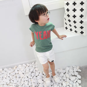 2-5Y Boys Short-sleeve Shirt A10473H