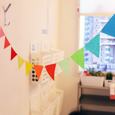 Party Flag Bunting Garland Set Colourful Garland A7042H / A7042I