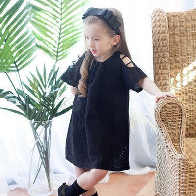 100% Handmade Kids Black Layers Hairband A323G102L