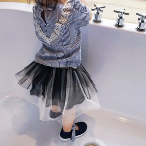 0-4Y Baby / Girls Black Tutu Skirt G204G