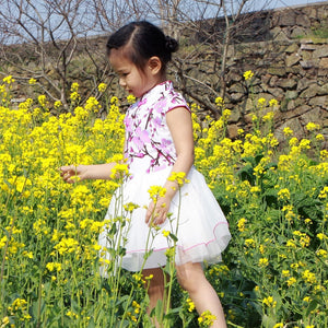 1-10Y Girls Cheongsam Dress A200C17G