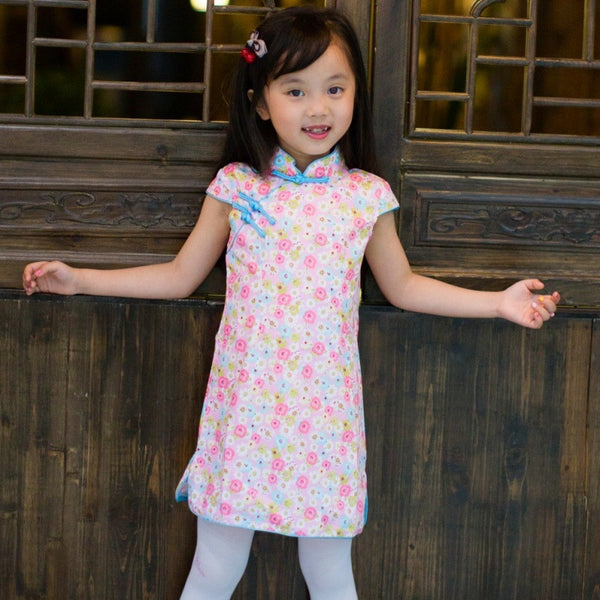 1-8Y Girls Cheongsam Dress A200C18A