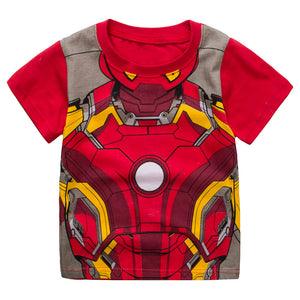 Boys Iron Man Top and Bottom 2pcs Set A1061D